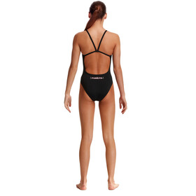 Funkita Single Strap Swimsuit Girls crazy cat